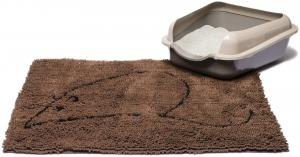 Dog Gone Smart Cat Litter Mat 35 x 26'' Brown